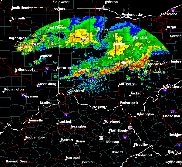 Radar Image for Severe Thunderstorms near New Lexington, OH at 7/7/2017 2:15 PM EDT