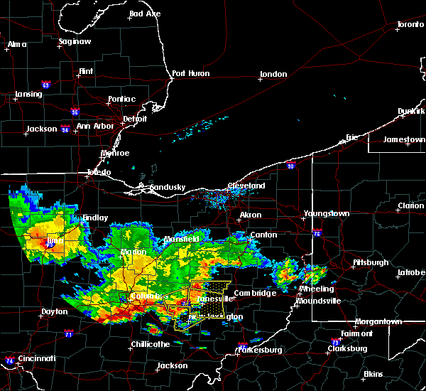 Radar Image for Severe Thunderstorms near Plainfield, OH at 7/7/2017 2:20 PM EDT