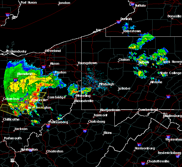 Radar Image for Severe Thunderstorms near Plainfield, OH at 7/7/2017 2:31 PM EDT