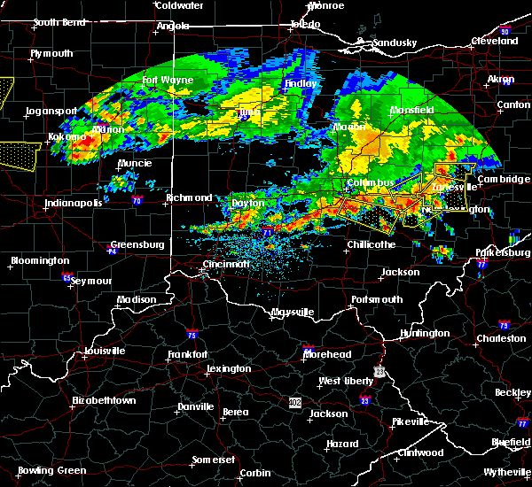 Radar Image for Severe Thunderstorms near New Lexington, OH at 7/7/2017 2:31 PM EDT