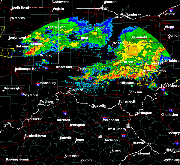 Radar Image for Severe Thunderstorms near New Lexington, OH at 7/7/2017 2:44 PM EDT