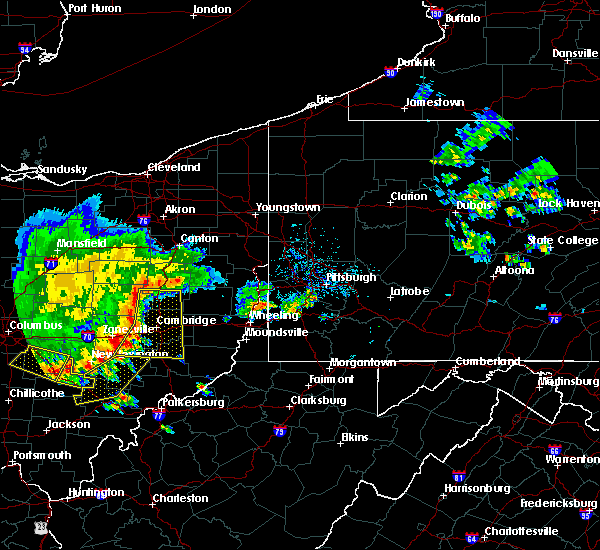 Radar Image for Severe Thunderstorms near Plainfield, OH at 7/7/2017 2:47 PM EDT