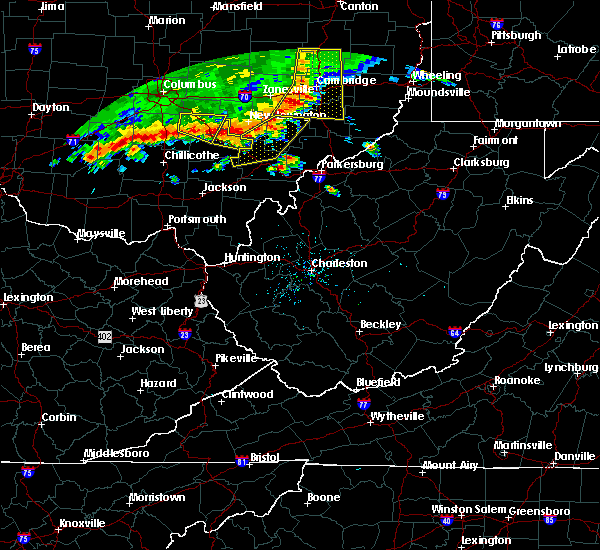 Radar Image for Severe Thunderstorms near Chesterhill, OH at 7/7/2017 2:52 PM EDT