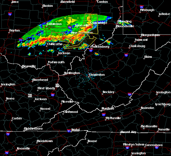 Radar Image for Severe Thunderstorms near Chesterhill, OH at 7/7/2017 3:02 PM EDT
