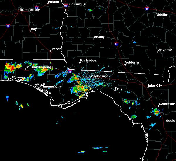 Radar Image for Severe Thunderstorms near St. Marks, FL at 7/7/2017 3:05 PM EDT