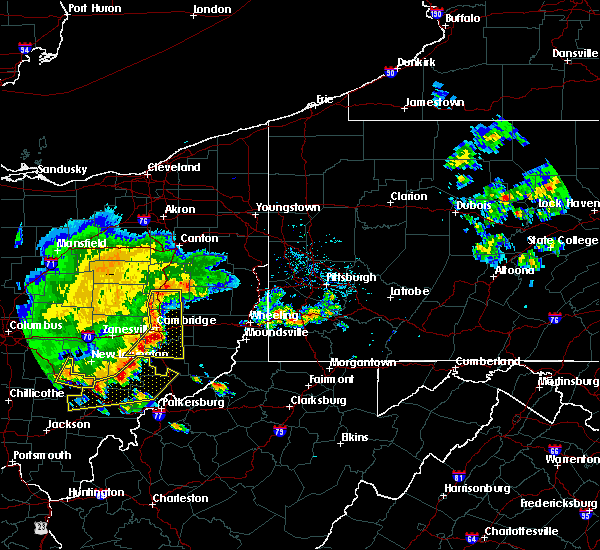 Radar Image for Severe Thunderstorms near Tuscarawas, OH at 7/7/2017 3:05 PM EDT