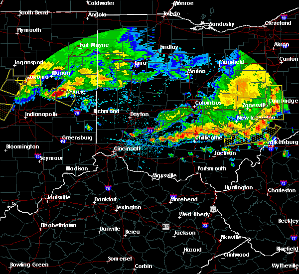 Radar Image for Severe Thunderstorms near Logan, OH at 7/7/2017 3:11 PM EDT
