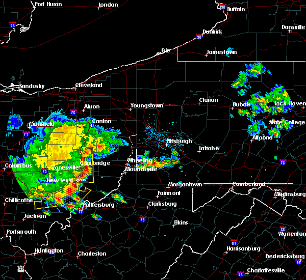 Radar Image for Severe Thunderstorms near Tuscarawas, OH at 7/7/2017 3:15 PM EDT