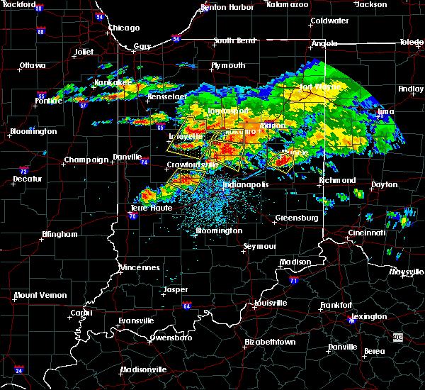 Radar Image for Severe Thunderstorms near Sheridan, IN at 7/7/2017 3:36 PM EDT