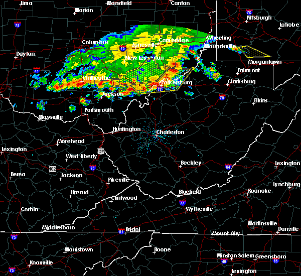 Radar Image for Severe Thunderstorms near Chesterhill, OH at 7/7/2017 3:43 PM EDT