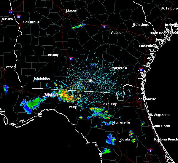 Radar Image for Severe Thunderstorms near Madison, FL at 7/7/2017 5:07 PM EDT