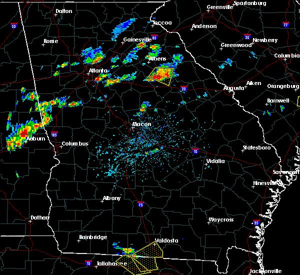 Radar Image for Severe Thunderstorms near Woodville, GA at 7/7/2017 5:11 PM EDT