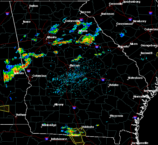 Radar Image for Severe Thunderstorms near Woodville, GA at 7/7/2017 5:29 PM EDT