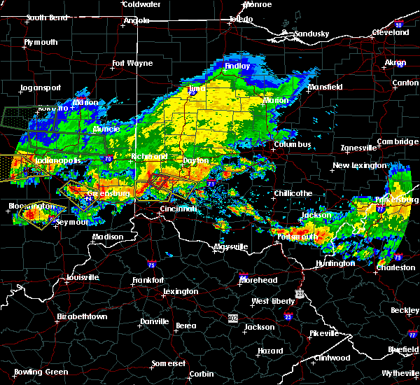 Radar Image for Severe Thunderstorms near Oxford, OH at 7/7/2017 5:48 PM EDT