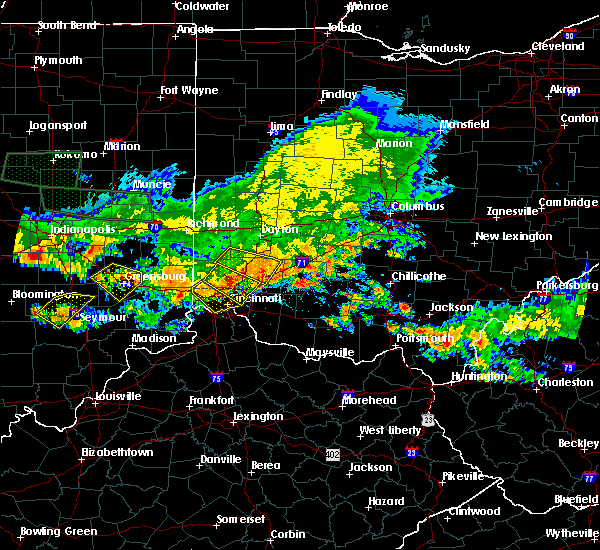 Radar Image for Severe Thunderstorms near Cincinnati, OH at 7/7/2017 6:07 PM EDT