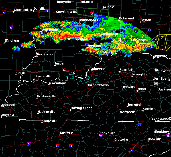 Radar Image for Severe Thunderstorms near Hanover, IN at 7/7/2017 7:01 PM EDT