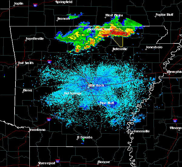Radar Image for Severe Thunderstorms near Ash Flat, AR at 7/7/2017 10:19 PM CDT