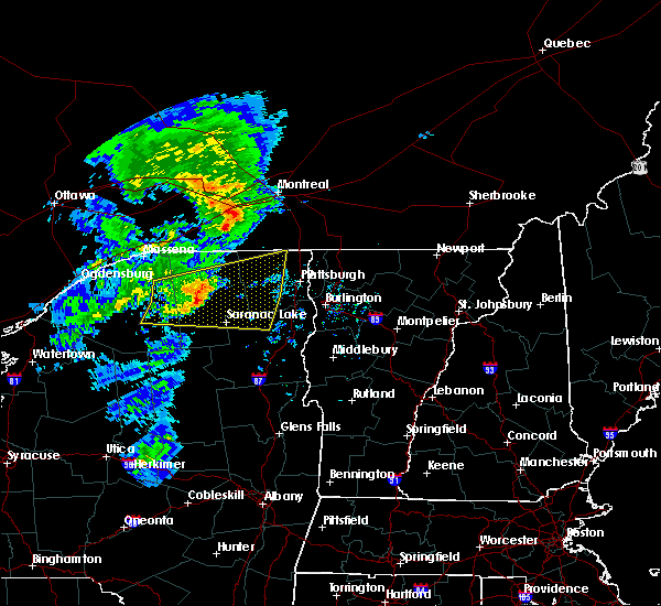 Radar Image for Severe Thunderstorms near Au Sable Forks, NY at 7/8/2017 5:58 AM EDT