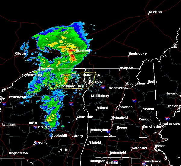 Radar Image for Severe Thunderstorms near South Burlington, VT at 7/8/2017 6:37 AM EDT
