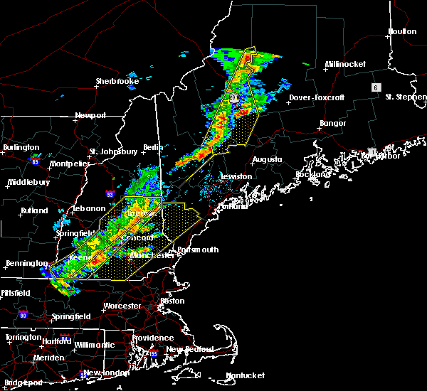 Radar Image for Severe Thunderstorms near Raymond, NH at 7/8/2017 1:01 PM EDT