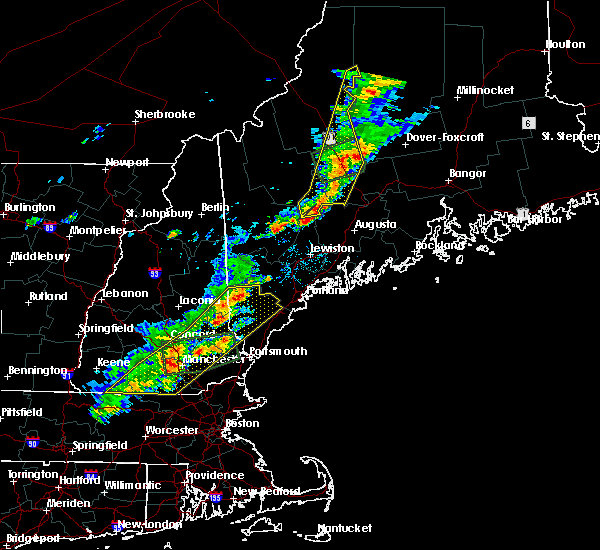 Radar Image for Severe Thunderstorms near Hudson, NH at 7/8/2017 1:31 PM EDT
