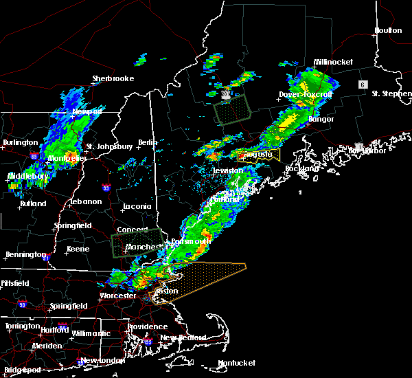Radar Image for Severe Thunderstorms near Augusta, ME at 7/8/2017 3:02 PM EDT