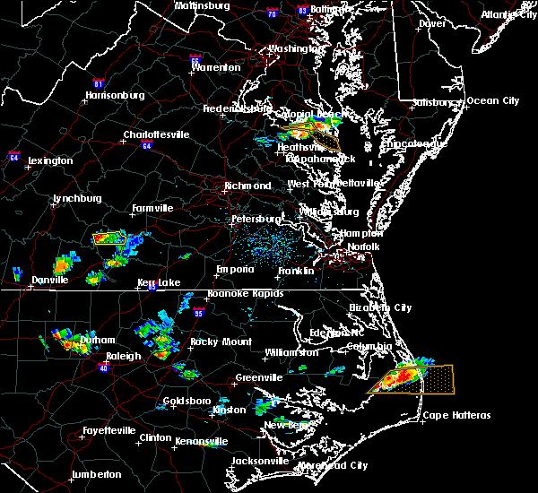 Radar Image for Severe Thunderstorms near Charlotte Court House, VA at 7/8/2017 5:31 PM EDT
