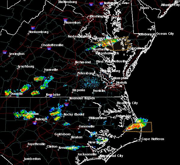 Radar Image for Severe Thunderstorms near Charlotte Court House, VA at 7/8/2017 5:44 PM EDT