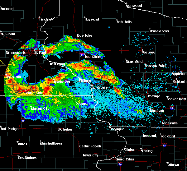 Radar Image for Severe Thunderstorms near Cataract, WI at 7/9/2017 11:25 PM CDT