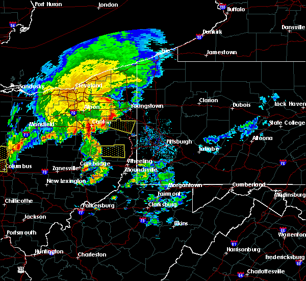 Radar Image for Severe Thunderstorms near Uhrichsville, OH at 7/10/2017 2:56 PM EDT