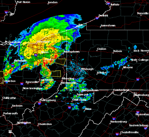 Radar Image for Severe Thunderstorms near Rogers, OH at 7/10/2017 3:01 PM EDT