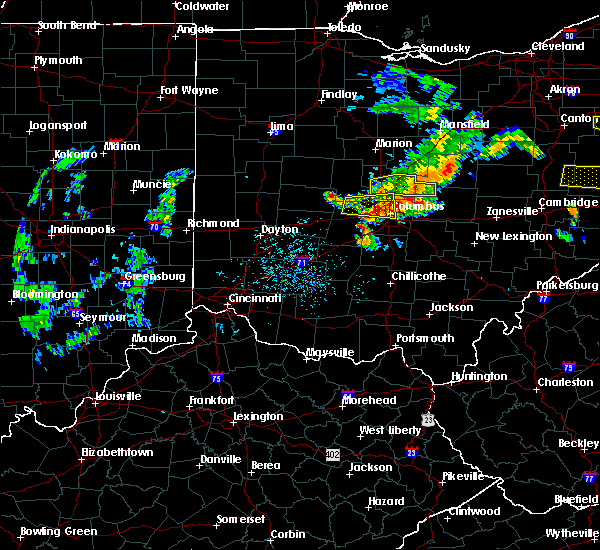 Radar Image for Severe Thunderstorms near Westerville, OH at 7/10/2017 3:17 PM EDT