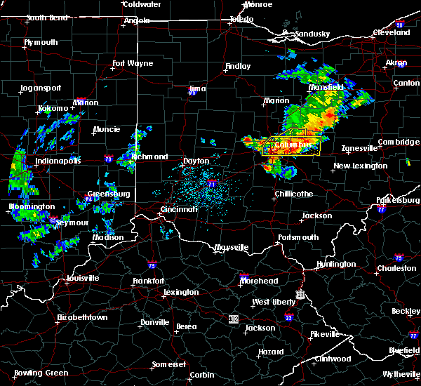 Radar Image for Severe Thunderstorms near St. Louisville, OH at 7/10/2017 3:35 PM EDT