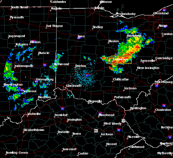 Radar Image for Severe Thunderstorms near Johnstown, OH at 7/10/2017 3:38 PM EDT