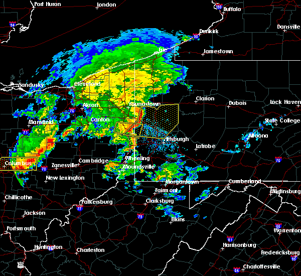 Radar Image for Severe Thunderstorms near Calcutta, OH at 7/10/2017 3:47 PM EDT