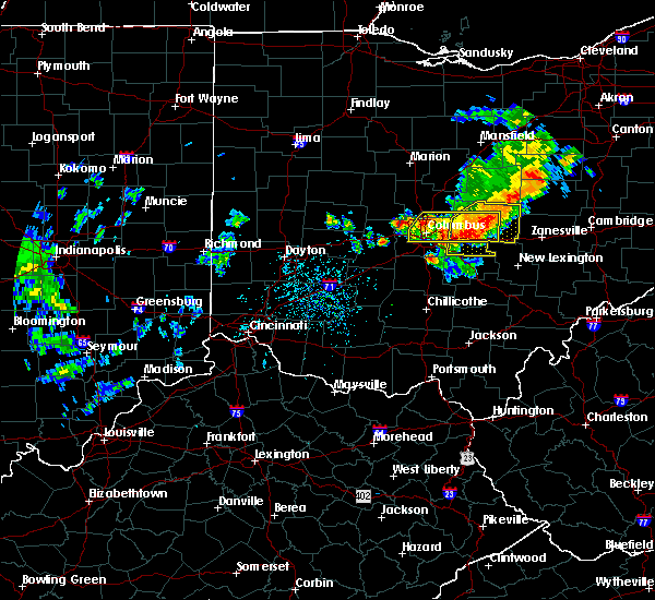 Radar Image for Severe Thunderstorms near New Albany, OH at 7/10/2017 3:50 PM EDT