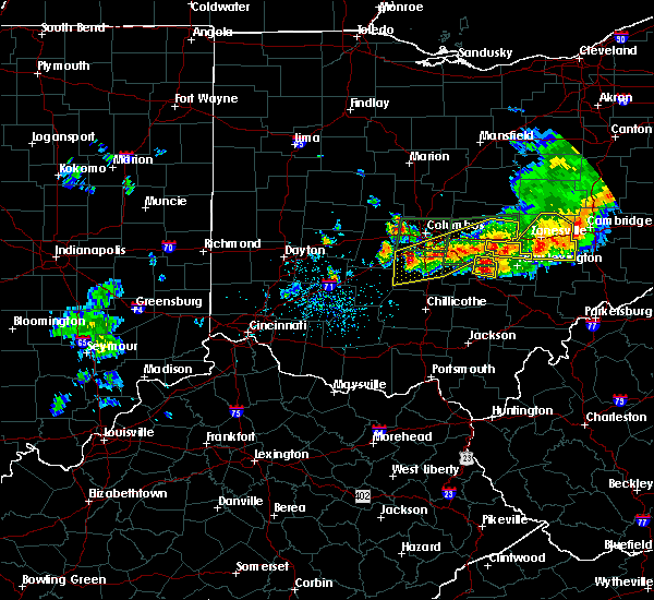 Radar Image for Severe Thunderstorms near Rushville, OH at 7/10/2017 4:39 PM EDT