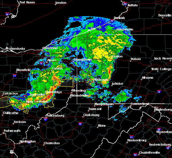 Radar Image for Severe Thunderstorms near Wintersville, OH at 7/10/2017 5:03 PM EDT