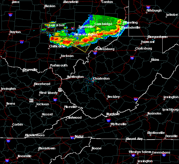 Radar Image for Severe Thunderstorms near Chesterhill, OH at 7/10/2017 5:38 PM EDT