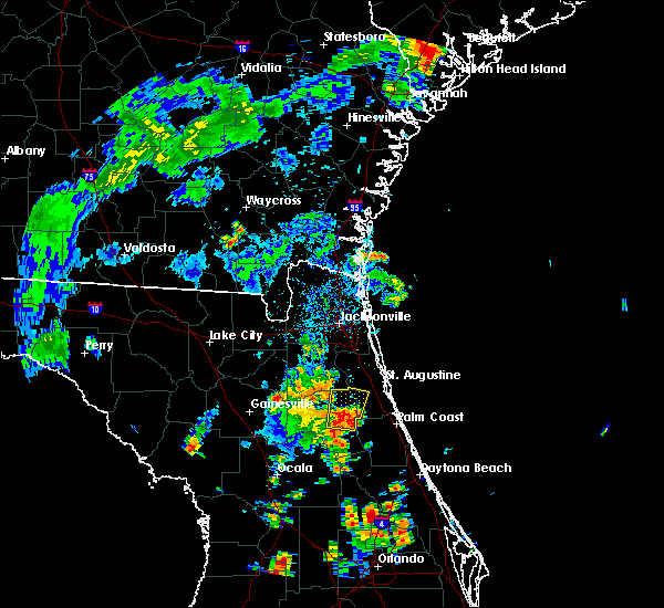 Radar Image for Severe Thunderstorms near Flagler Estates, FL at 7/10/2017 5:40 PM EDT