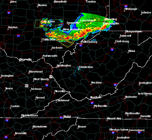 Radar Image for Severe Thunderstorms near Albany, OH at 7/10/2017 5:53 PM EDT