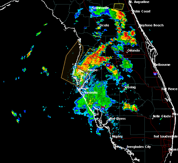 Radar Image for Severe Thunderstorms near St. Leo, FL at 7/10/2017 6:14 PM EDT