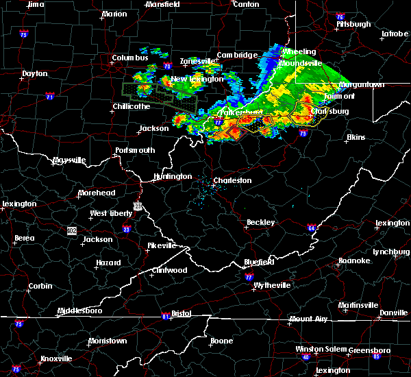 Radar Image for Severe Thunderstorms near Cairo, WV at 7/10/2017 7:17 PM EDT