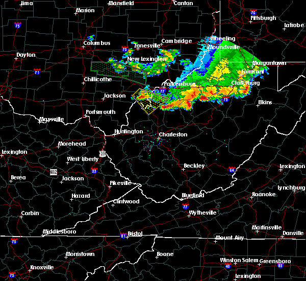 Radar Image for Severe Thunderstorms near Ravenswood, WV at 7/10/2017 7:36 PM EDT