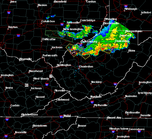 Radar Image for Severe Thunderstorms near Weston, WV at 7/10/2017 7:48 PM EDT