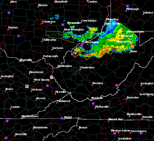 Radar Image for Severe Thunderstorms near Ravenswood, WV at 7/10/2017 8:01 PM EDT