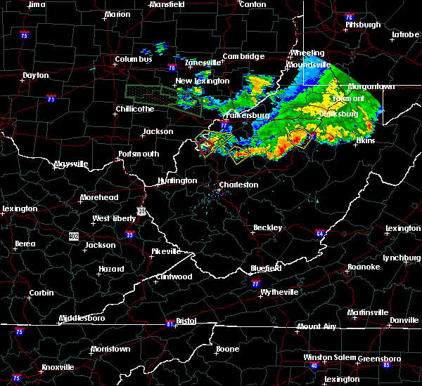 Radar Image for Severe Thunderstorms near Weston, WV at 7/10/2017 8:04 PM EDT