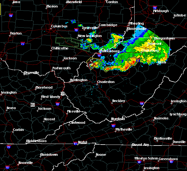 Radar Image for Severe Thunderstorms near Ravenswood, WV at 7/10/2017 8:14 PM EDT