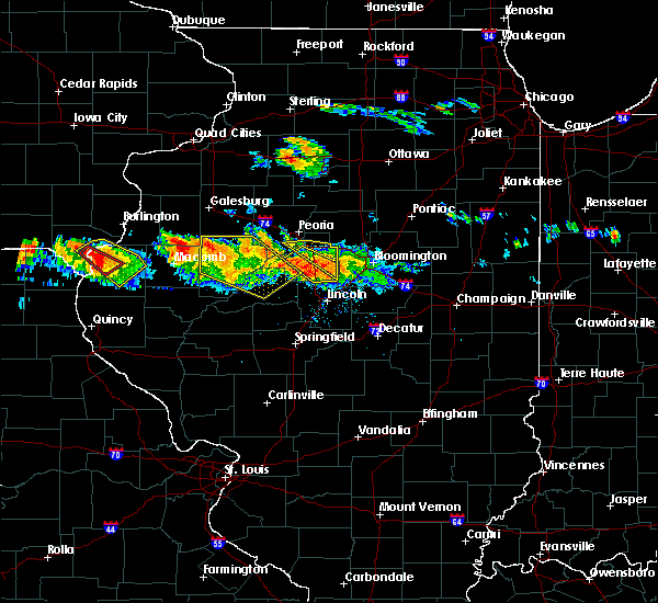 Radar Image for Severe Thunderstorms near Dunfermline, IL at 7/10/2017 7:44 PM CDT