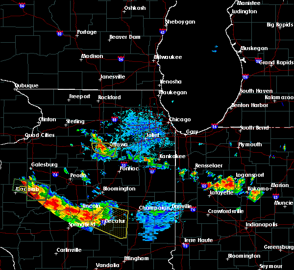 Radar Image for Severe Thunderstorms near Ottawa, IL at 7/10/2017 9:02 PM CDT